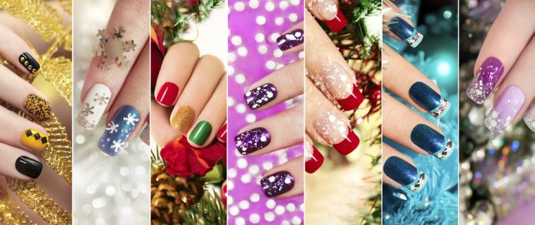 15 Stunning Christmas Nail Artideas